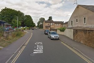 The collision took place in Main Street, Hackenthorpe. Picture: Google Maps