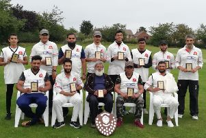 Mount CC's Sunday team won the Halifax League Sunday Division Three title.