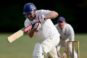 Tim Orrell made 65 at the top of the Mirfield Parish Cavaliers innings as they defeated Lascelles Hall to secure the Huddersfield League Championship title last Saturday.