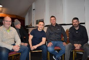 A few of the first-ever attendees of the new group in Cleckheaton tackling social stigma in men