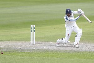 Jack Leaning scored a century on day two (Photo: PA)
