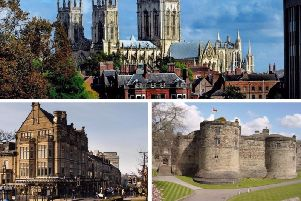 Which are Yorkshire's happiest towns? These pictures should give you a clue.