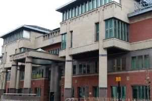 Arshid Hussain's alleged victim gave evidence at Sheffield Crown Court this morning