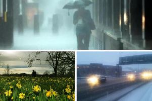 Yorkshire is set for a cold and wet Easter Monday.