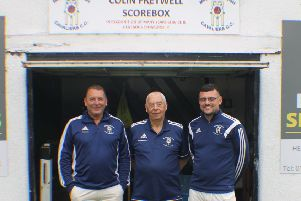 Colin Fretwell, with son Paul and grandson Tom, who have a long association with Mirfield Parish Cavaliers,