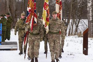 Yorkshire Colour Party in Estonia - will you support our troops this Christmas?