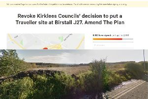 A petition hoping to reverse a decision to allow a traveller's site at Birstall J27 has been branded racist.