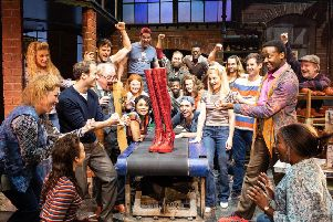 Shoe factory saved by Kinky Boots!