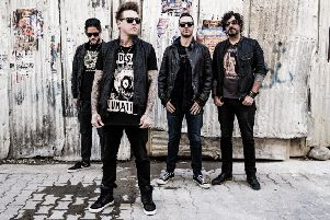 Papa Roach are playing in Leeds on Easter Sunday.