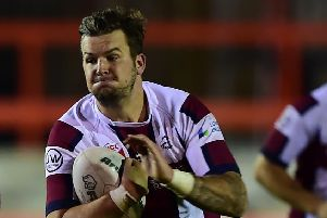 Tom Gledhill scored a try in Thornhill's defeat to Rochdale Mayfield.