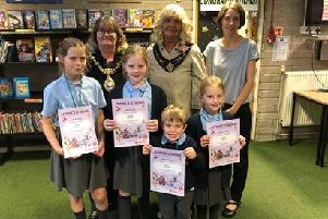 Young book lovers have been rewarded for taking part an annual library challenge in St Helens