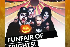 A Halloween themed circus is in store at Church Square Shopping Centre on Saturday, October 26