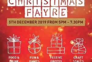 Rainford High Christmas Fayre takes place on Thursday, December 5