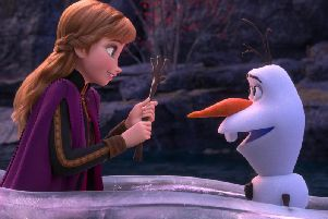 I don't think that will work for scraping Princess Anna.. Image from Frozen 2