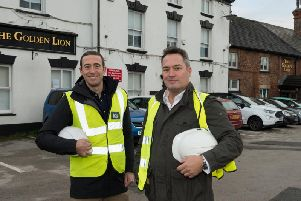 Chris and Jon Nevin are investing more than 600,000 in The Golden Lion