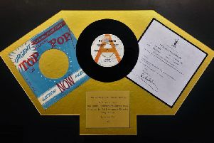 The first Beatles record to be played on the radio which is being sold by an auction house in Newton-le-Willows on January 28