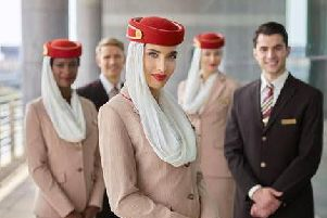 Emirates Airlines is holding a cabin crew recruitment day in Liverpool