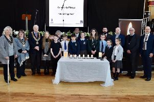 A service was held in St Helens Town Hall