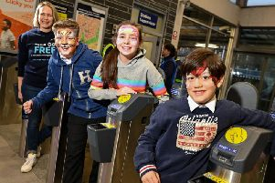Face painters and circus performers will be entertaining families across the Northern network this half term