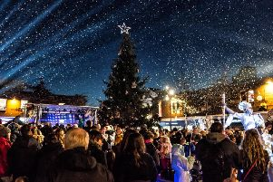 For 2019-20 St Helens Council will have a budget of 211,000 to fund its events - including the Christmas lights switch-on