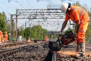 There will be more engineering work on the West Coast main line over the Whitsun bank holiday weekend