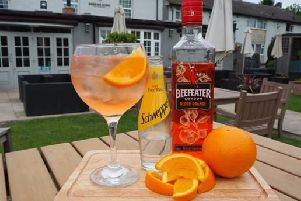 Get a Beefeater Blood Orange or Beefeater Pink Strawberry Gin