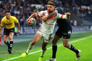 Tommy Makinson. Picture: SWPix