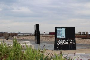 Visitors are flocking to the new-look Roker seafront.