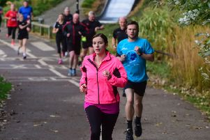 MP for Houghton & Sunderland South Bridget Philipson joined other runners for the 7th anniversary of the Sunderland Park Run at Silksworth Sports Complex.