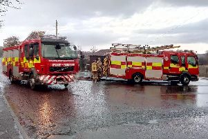 Firefighters have tackled the second blaze in 24 hours at Houghton factory TKT Cosyfoam in Houghton.