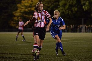 Kasia Lipka of Sunderland Ladies.