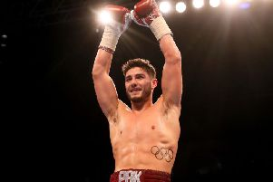 Josh Kelly. Picture by Lawrence Lustig/ Matchroom Boxing