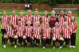 Sunderland Ladies started life in the third tier with a narrow defeat
