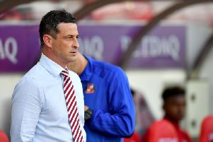 Jack Ross is comfortable with his Sunderland squad