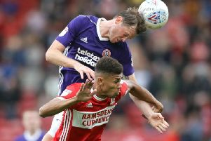 Ashley Fletcher in action for Middlesbrough