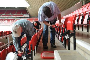 New seats at the Stadium of Light