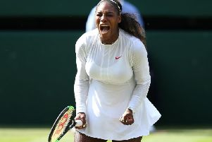 Serena Williams. Picture by Pa