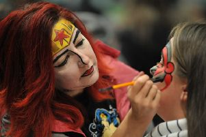 There was lots of activities for children including facepainting