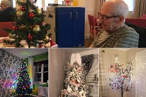 Your Christmas tree pictures have already lit up our December. Clockwise from top, pictures by Symonie Minnestronie, Bill Price, Jade Chapplow and Jacolyn Walker.