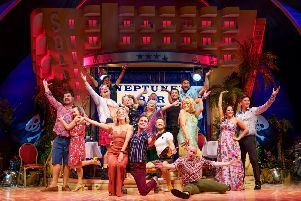 The cast of Benidorm Live