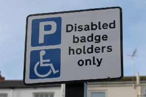 Sunderland has one of the highest proportins of blue badge holders in England