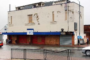 A photo from the Echo archives of the building which housed the New Monkey in Pallion Road.