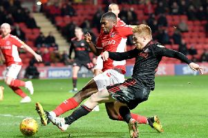Duncan Watmore in action against Charlton.