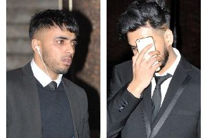 Defendants Syed Ahmed, left, and Najirul Miah deny raping a woman in the Hendon area of Sunderland.