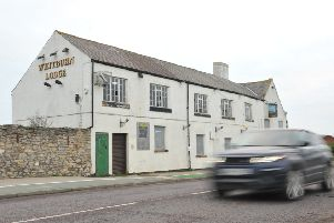 The former Whitburn Lodge, which has been closed for six years.