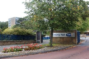 County Hall, the headquarters of Durham County Council.