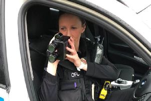 Cleveland Police and Durham Constabulary launched the campaign against speeding drivers in January.
