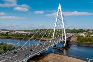 The next stage of the Sunderland Strategic Transport Corridor will connect the Northern Spire bridge to the city centre