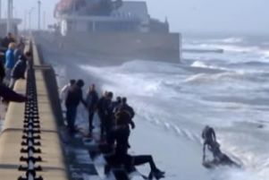 The RNLI is warning people about the dangers of the sea.
