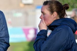 SAFC Ladies manager Mel Copeland